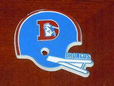 DENVER BRONCOS Vintage Old NFL RUBBER Football FRIDGE MAGNET Standings Board
