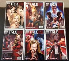 True Blood French Quarter #1-6 Complete Set Lot Run! IDW HBO! IDW 2011 NM!