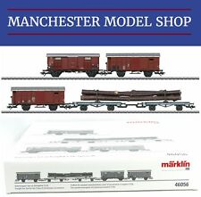 Märklin 46056 HO Freight Car Set for the SBB era II C5/6 Steam Locomotive NEW