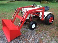 Vintage Bolens 1455 Tractor With Front End Loader