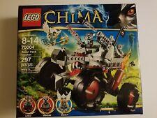 Lego 70004 Legends of Chima Wakz' Pack Tracker, New Sealed Nib Fast Shipping