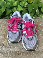 Saucony Cohesion 7 Womens Size 5.5 Silver White Pink Running Shoe