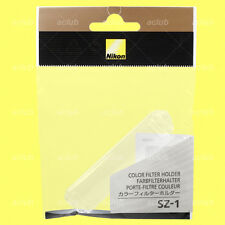 Genuine Nikon SZ-1 Color Filter Holder SZ1 for SJ-2 SJ-R200 R1C1 SB-R200 Flash