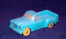 Tomte Laerdal 1:30 STUDEBAKER CHAMP 1962 PICK-UP Truck Blue Vinyl PVC Car NM!