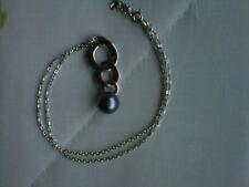bijou en argent - idée cadeau pas cher - neuf - joli collier à perles zara