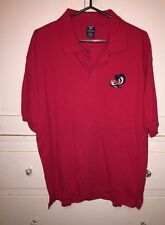 Vintage Warner Bos Shirt Mens Polo Pepe Lepew Skunk Size L 100% Cotton