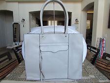 Rebecca Minkoff Medium MAB Tote Ash Grey Leather Handbag Bag 061912 $265