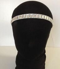 VINTAGE ART DECO 1920s Silver Diamante/Crystal FESTIVAL HEADDRESS GATSBY
