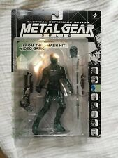 McFarlane Toys Solid Snake clear variant Metal Gear Action Figure - New in Box