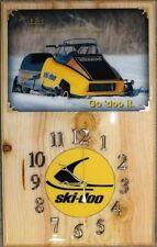 '78 Ski Doo 440 Blizzard snowmobile wood clock