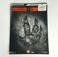 GOOD Evolve Video Game Strategy Guide - Xbox One Playstation 4 or PC BradyGames