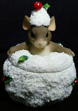 Charming Tails - Snow Angels Lidded Box - 93/483 - Fitz and Floyd Division