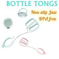 Infant Anti-slip Baby Bottle Handle Tongs Feeder Milk Bottle Holder Clip