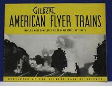 Original 1940 American Flyer Train Catalog Worlds Fair Exc Cond
