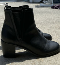 ASOS - Women's Ankle Boots / Black Booties, Pull On, Size US 9