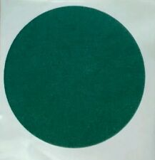 """19cm 7 1/2"""" GREEN FELT BAIZE round DISC discs self adhesive protect craft cover"""