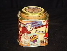 Old Vintage Advertising Ads Hershey Chocolate 1920 Montage Litho Metal Tin Can