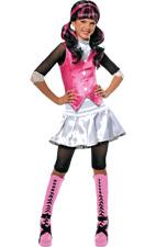 More details for girls monster high draculaura halloween cartoon fancy dress costume