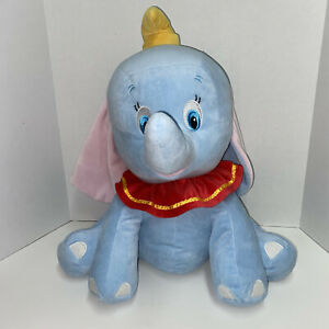 "2015 Dumbo 18"" Disney Baby Flying Elephant Plush Stuffed Toy Animal"