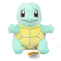 """New 11"""" 28Cm Licensed Pokemon Squirtle Plush Toys Soft Stuffed Animal Doll Gift"""
