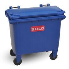 Mini-Müllcontainer blau Tisch-Mülltonne Miniatur Nachbildung SULO MGB 660