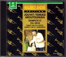 Maurice ANDRE Jolivet Henri Tomasi Aroutounian CD Trumpet Concerto André Erato