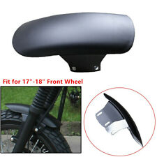 Universal Cafe Racer Front Fender Splash Mud Dust Guard Mudguard Motorcycle Part