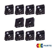 NEW GENUINE SMART FORTWO 451 SIDE SILL SQUARE RETAINING CLIPS 10 PCS A0009912098