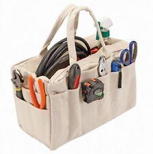 Light Weight 24 Pocket Canvas Electrician, Gardner, Carpenter Riggers Tool Bag