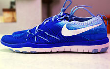 NEW Nike Women's Free TR Focus Flyknit Runners Racer Blue Size US-9.5 RRP $200