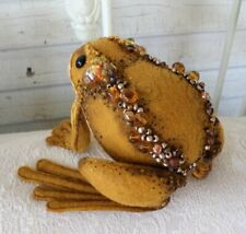 """*NEW* Cloth Art Doll (Paper) Pattern """"The Frog ~ Prince"""" By Paula McGee"""