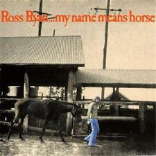 ROSS RYAN My Name Means Horse CD NEW Deluxe Digipak Remaster Bonus Tracks