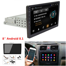 """1Din 8"""" Android 8.1 HD Touch Screen Car Stereo Radio GPS Wifi Quad-core 1G+16GB"""