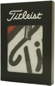 Titleist Golf Hand Towel with hook Black AJTWH6 2020 New fm Japan