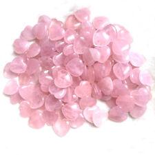Rose Quartz Crystal Stone Carved Heart Shaped Healing Love Gemstone Pink Gift