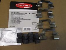 VOLVO XC70 XC 60 V70 V60 S80 REAR BRAKE DISC PAD FITTING KIT  DELPHI LX 0509