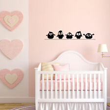 Cute Birds Wall Stickers Family Decor Removable DIY Vinyl Mural Home Room Decals