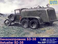 UM BZ-38 Avión Camión cisterna RKKA GAZ-AAA 1:48 modelo equipo de construcción