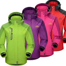 Women's Outdoor Sport Coat Hoodie Hiking Jacket  Winter Ski windproof Waterproof