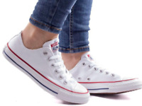 Converse Chuck Taylor All Star White Low OX Trainer size uk10 M7652C brand new
