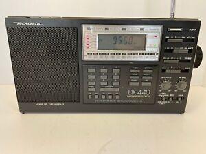 Realistic DX-440 Voice Of The World Shortwave Radio Receiver AM/FM/SW/LW