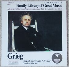 Grieg Family - Library of Great Music Vol 7 FW-307