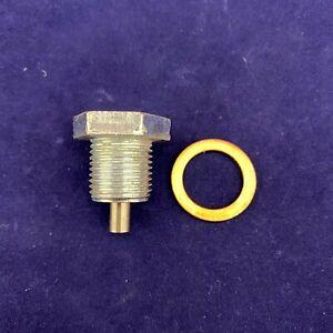 New OE Spec Magnetic Drain Plug & Copper Gasket For 8C3Z-6730A & 3C3Z-6734AA