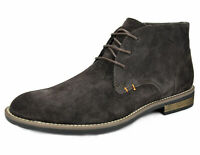 Men's Suede Leather Lace up Oxfords Desert Boots Chukka Boots Ankle Boots 6.5-15