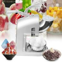 ZOKOP Electric Ice Crusher Shaver Machine Snow Cone Maker Shaved Ice 660Lbs 350W