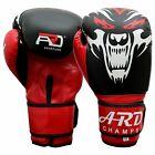 ARD® Art Leather Boxing Gloves Fight Punching Bag MMA Muay Thai Kickboxing- WDD