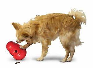 KONG Wobbler Dog Toy  Large Red Round Dog Toy