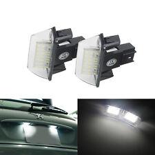 2x Eclairage Plaque d'immatriculation LED Pour Peugeot 207 307 308 406 407 5008