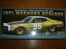 #95 Darrell Waltrip 1971 Mercury TERMINAL TRANSPORT 1/24 NASCAR Legends IN STK