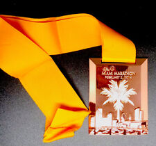 2014 MIAMI Marathon Medal - Authentic! Medal with Ribbon - NEW